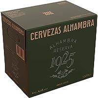 Alhambra Reserva 1925 Cerveza Dorada Lager, 6.4% Volumen de Alcohol, 12 x 33cl