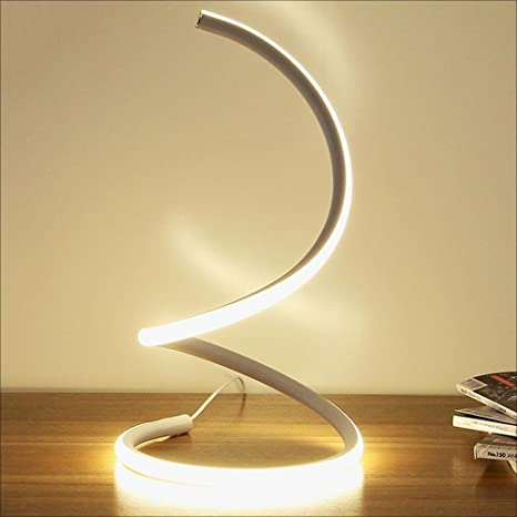 Hines Lampada da tavolo a LED moderna da tavolo Lampada da comodino ...