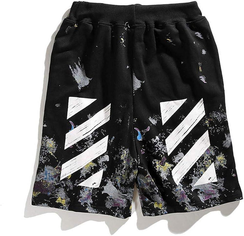 Starry Graffiti Vigilant Pants Casual Men and Women Shorts