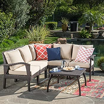 Amazon Com Great Deal Furniture 300272 Maui Outdoor V