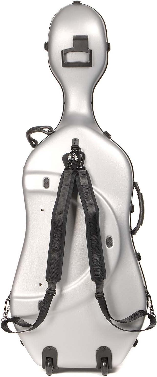Bam Francia 1001sw Classic 4/4 Cello caso con ruedas: Amazon.es ...
