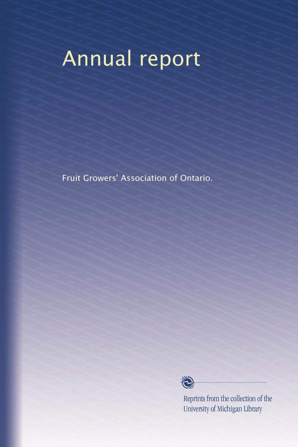 Download Annual report (Volume 2) PDF
