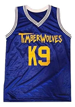 148c7a0dcbda borizcustoms Air K9 Timberwolves Blue Basketball Jersey Stitch Royal Yellow  (34)