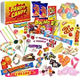 The Best Retro Sweets Candy Gift Hamper at the Lowest Price - The Perfect Gift For Birthdays - Packed to the Brim with Every Sweet You Can Remember From Your Childhood - The Perfect Gift For Christmas and Birthdays. Make Someone Smile Today!