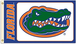BSI NCAA College Florida Gators 3 X 5 Foot Flag with Grommets