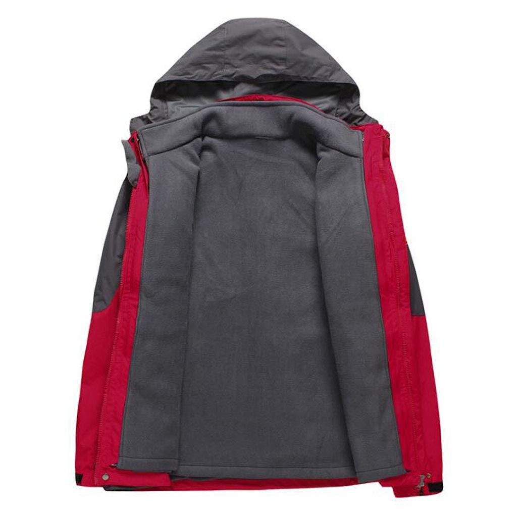 PFSYR Autunno e Inverno Addensare Tenere in Caldo Vestito a Due Pezzi Tuta  da Alpinismo 500165976e6