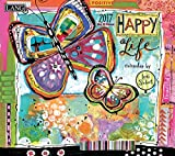 Lang 2017 Happy Life Wall Calendar, 13.375 x 24 inches (17991001982)