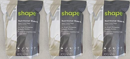 Product thumbnail for ViSalus VI-Shape Nutritional Shake Mix Sweet Cream Flavor