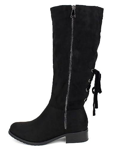 Noires Chaussures CendriyonBottes Cavalières Star Bello FJT15uc3lK