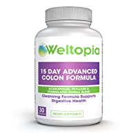 Weltopia - 15 Day Advance Colon Cleanse Formula with Probiotic - to Support Detox...