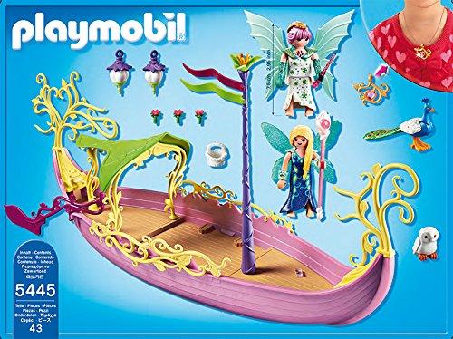 Playmobil - 5445 - Figurine - Bateau Enchanté De La Reine Des Fées ...