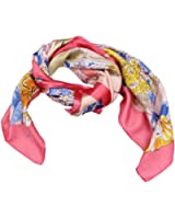 Romano Beautiful Silk Multi-Coloured Print Stole Scarves For Women