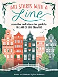 img - for Art Starts with a Line: A creative and interactive guide to the art of line drawing book / textbook / text book