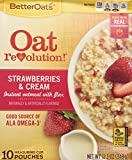 Better Oats Revolution Strawberry And Cream, 12.3 oz (348 g ) NET Wt.,  10 CT Pouches