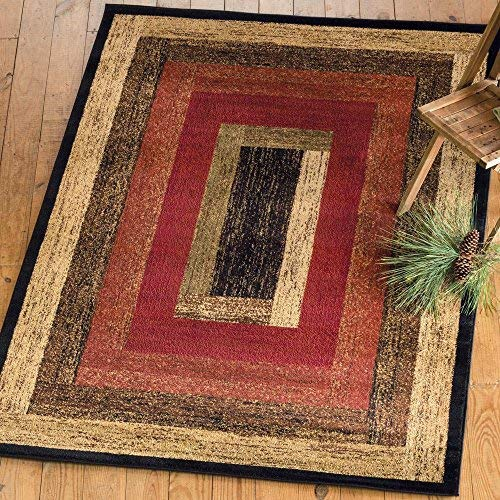 Black Forest Decor Vintage Woods Rug - 2 x 3