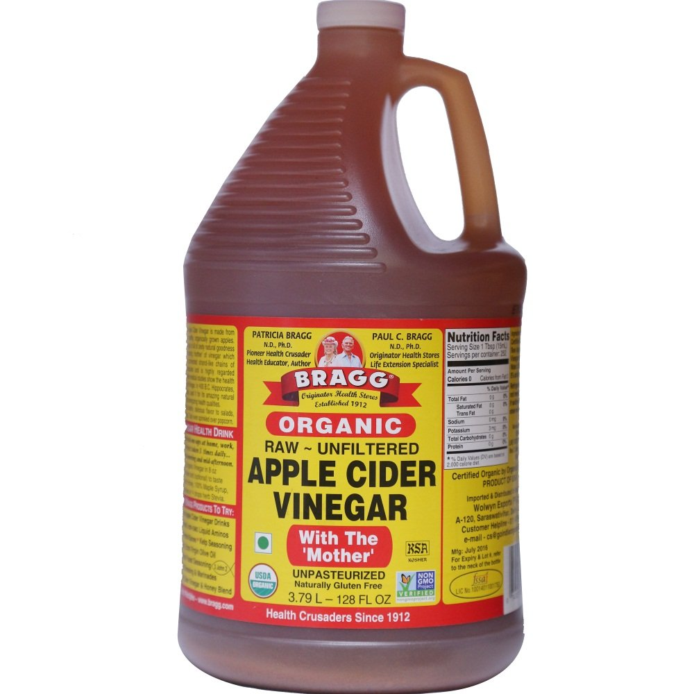 Bragg Organic Raw Unfiltered Apple Cider Vinegar with The Mother