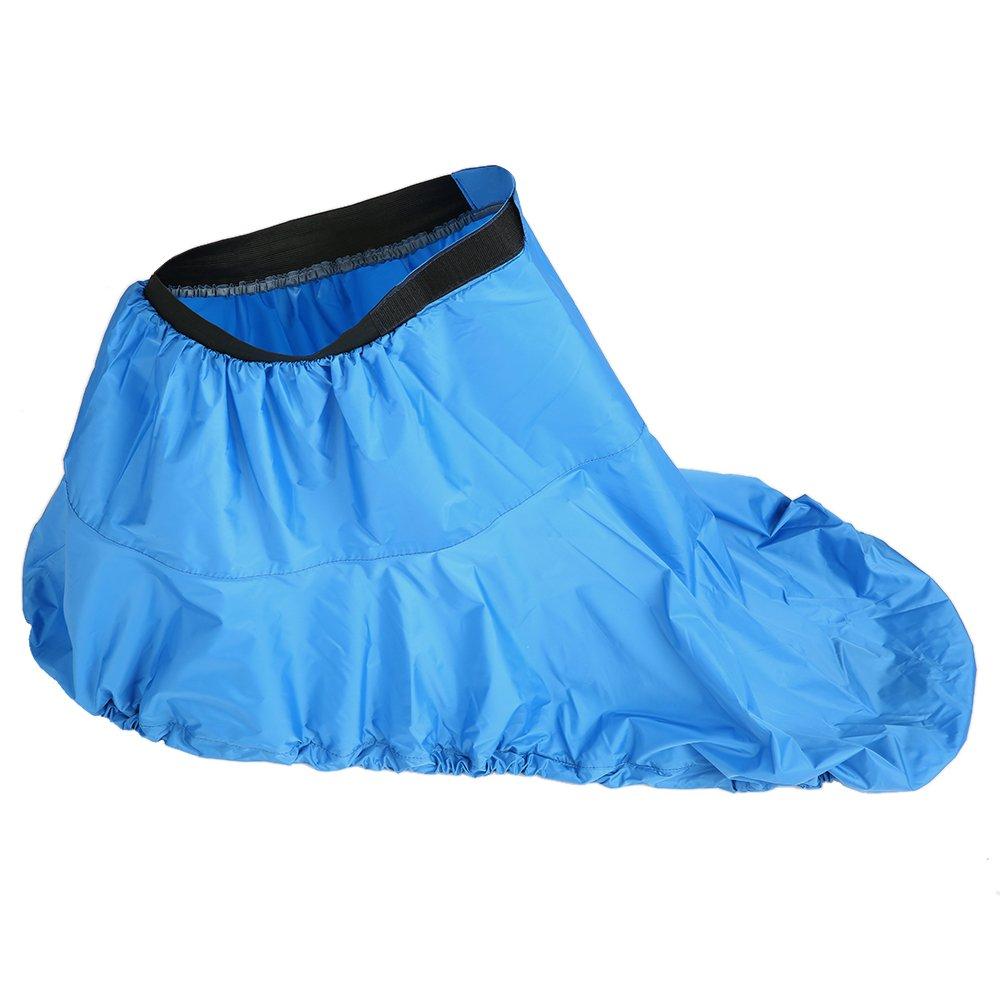Lixadaユニバーサル調節可能なスポーツ防水性ナイロン製カヤックスプレースカートデッキSprayskirtカバー B07C4YHSGL Blue|S S Blue