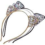 Cat Ears Headwear Girls Headband - AWAYTR Women Girls Cat Headband Hair Hoop Hair Accessories