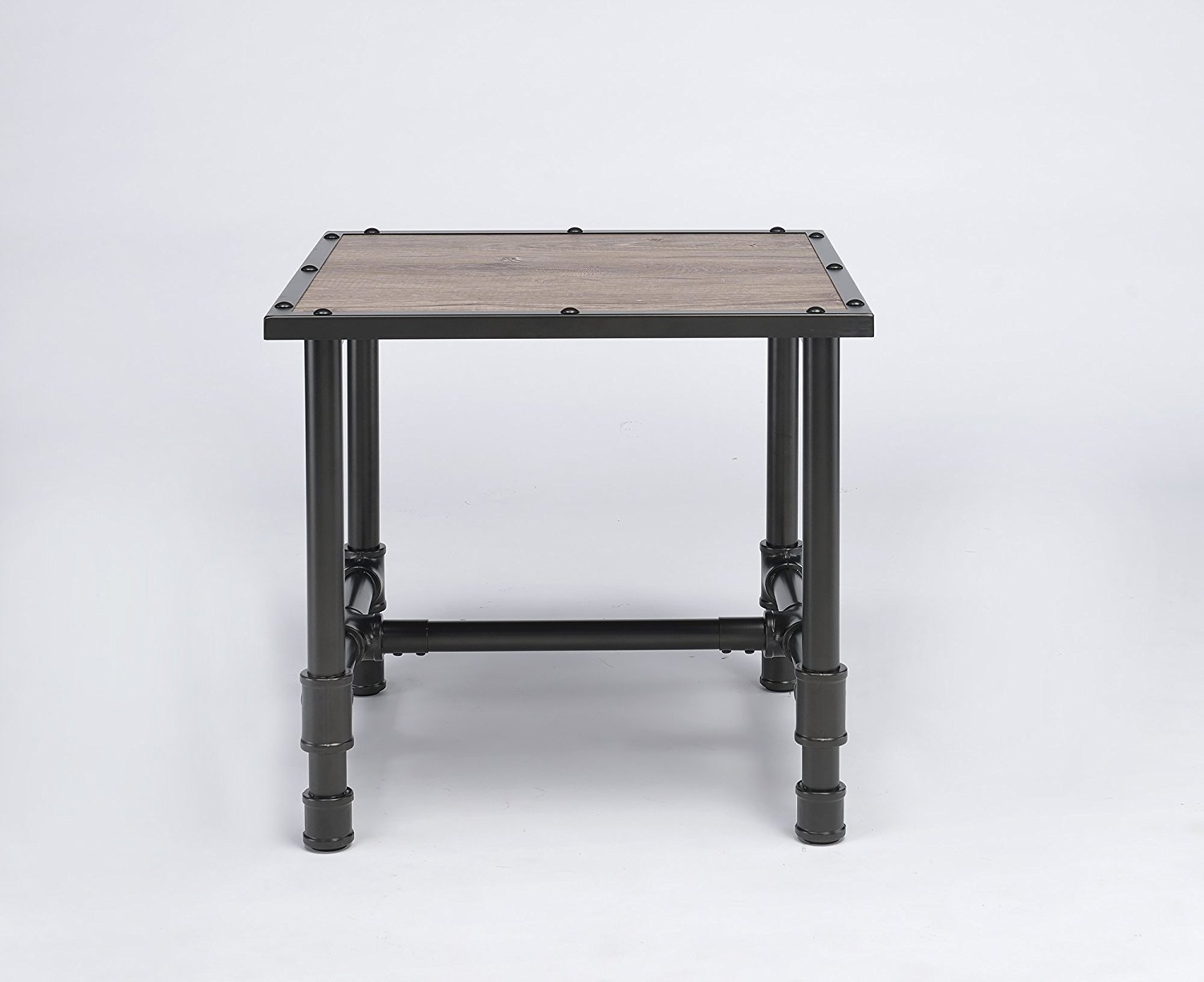Major-Q Industrial Style End Table for Living Room ...