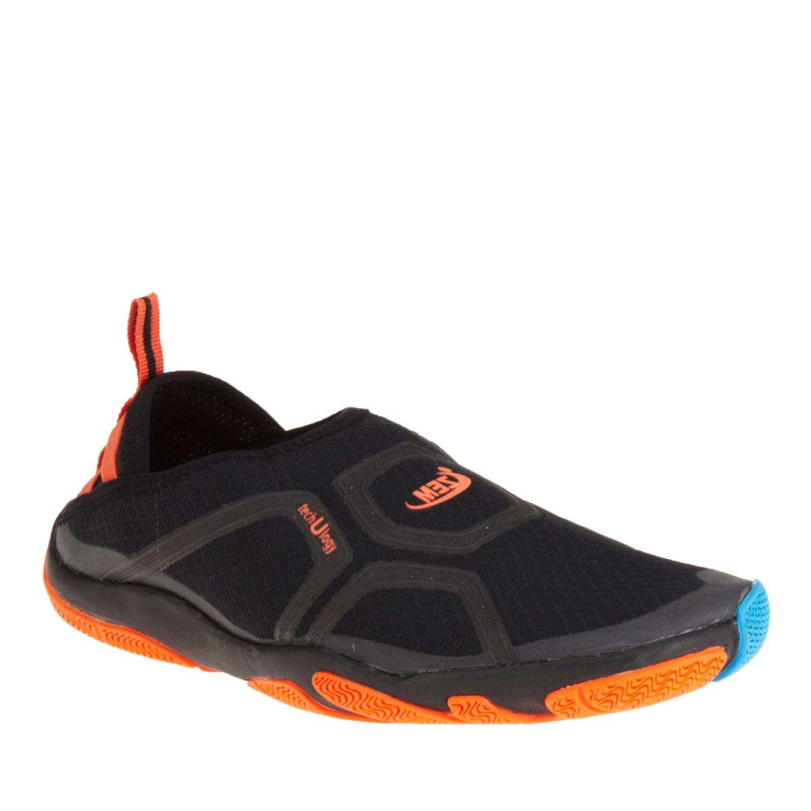 ZEMGEAR U Cross Round Toe Slip On Shoes