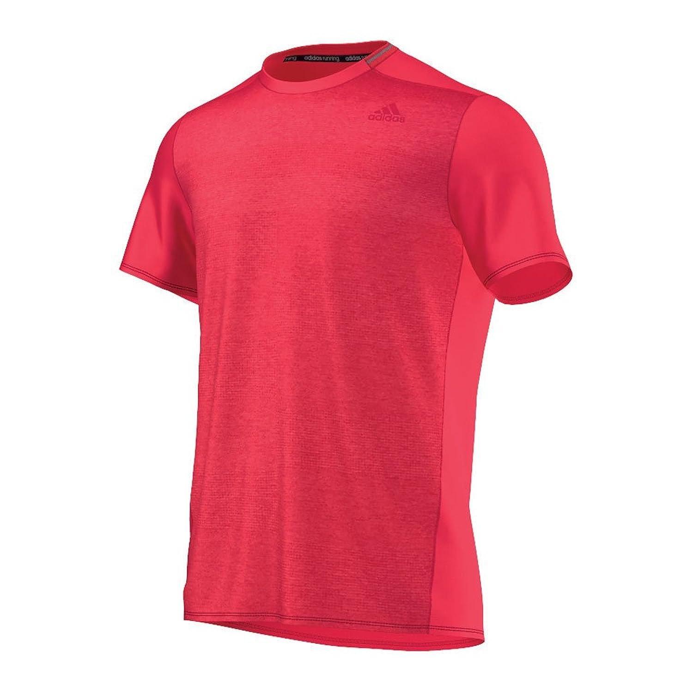 adidas Herren Laufshirt Supernova Short Sleeve M ray red f16 XS