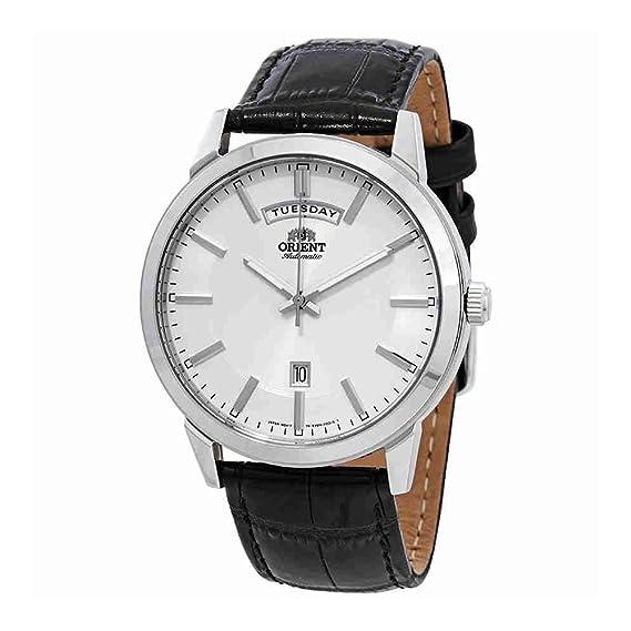 Orient Reloj Analógico para Hombre de Automático con Correa en Cuero FEV0U003WH