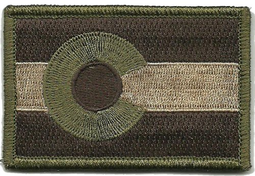 Gadsden and Culpeper Colorado Tactical Flag Patch - Multitan