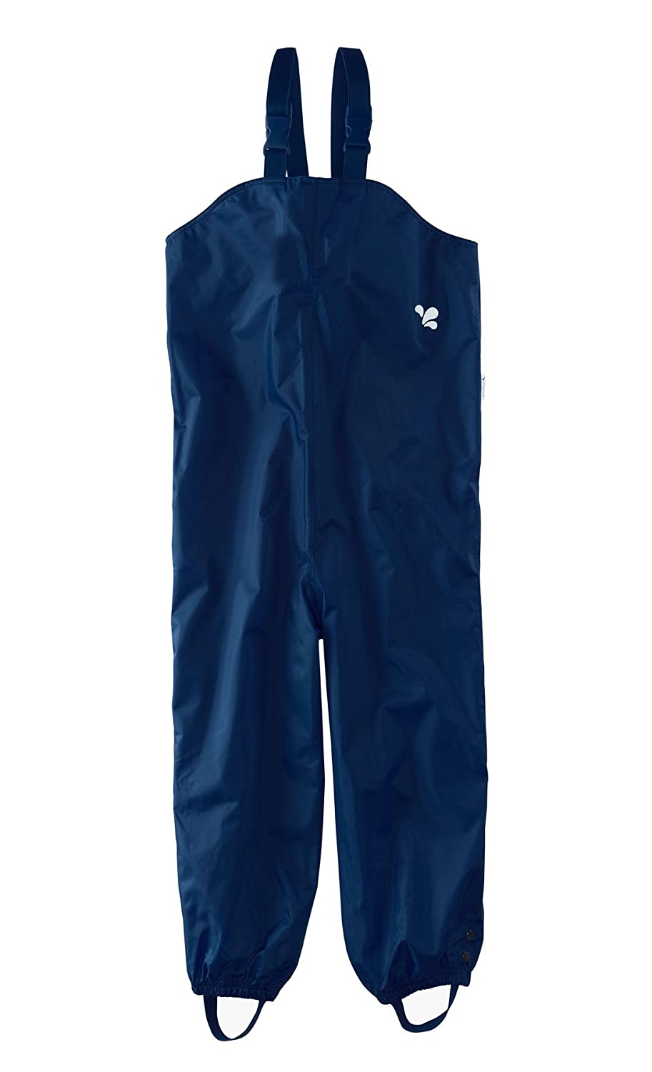 Muddy Puddles Little Boys' Waterproof Bib Overalls Bib and Brace Navy Blue