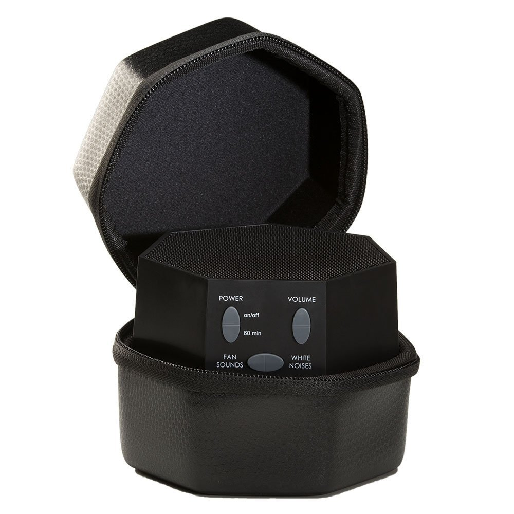 Black LectroFan Global Power Edition with Travel Case