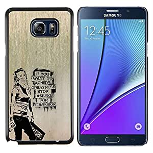 All Phone Most Case / Oferta Especial Duro Teléfono Inteligente PC Cáscara Funda Cubierta de proteccion Caso / Hard Case Samsung Galaxy Note5 5th N9200 // Banksy Graffity