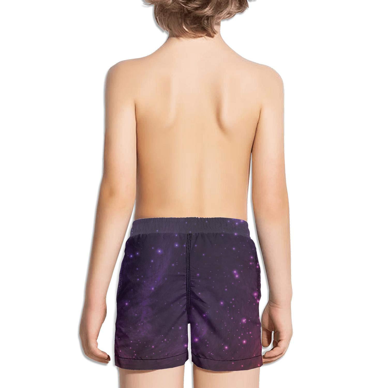 Boys Summer Casual Swimming Shorts Galaxy Panda Beach Board Shorts
