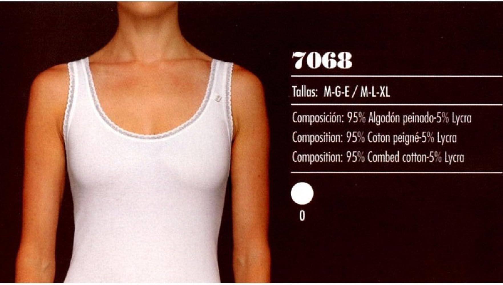 AVET 7068 - Camiseta Interior Tirante Ancho (E): Amazon.es: Ropa y accesorios