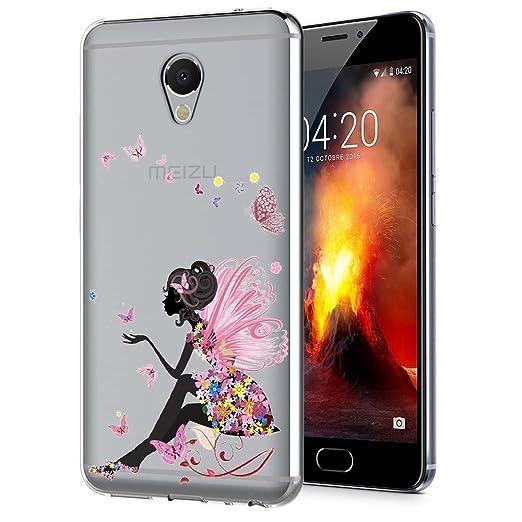 2 opinioni per Meizu M5 Note Custodia, ocketcase® Morbido Flessibile TPU Gel Silicone Cover