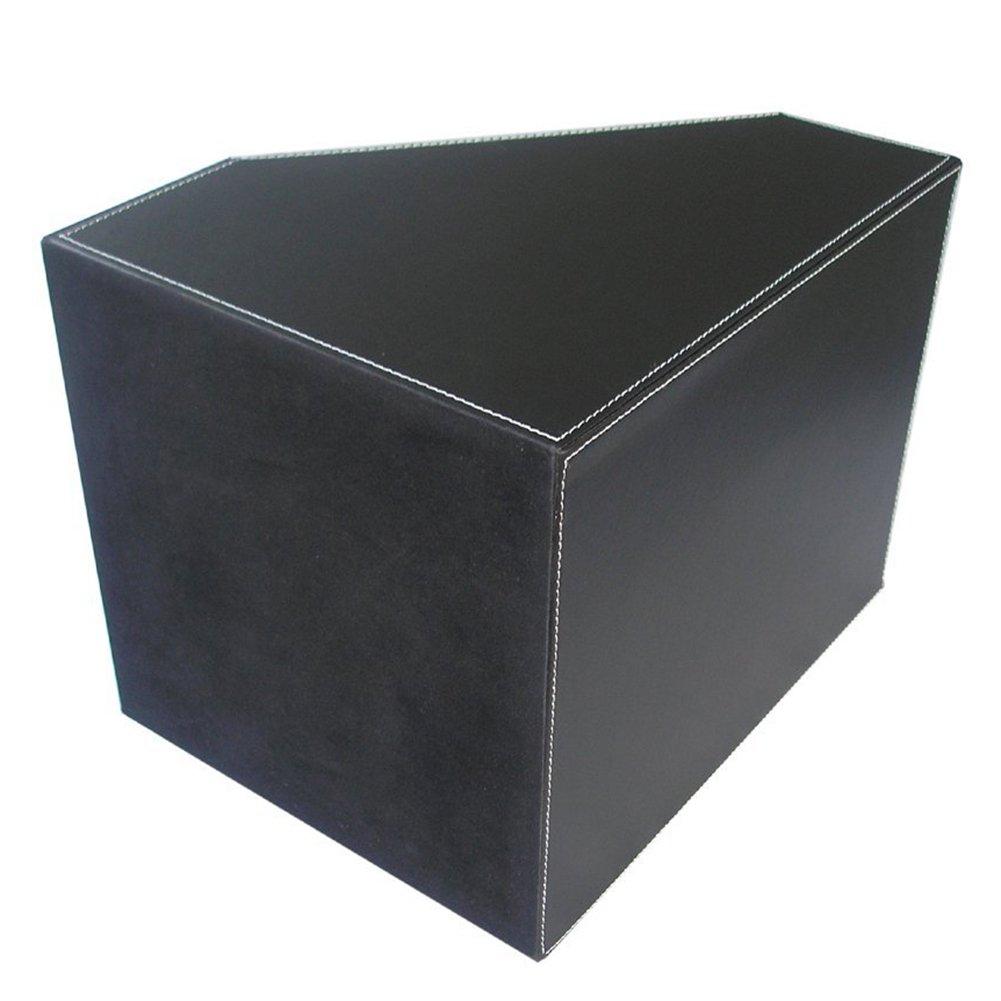 Kingfom Organizador de escritorio para documentos de de de 3 compartimentos, color 2 slot Marrón 32daeb