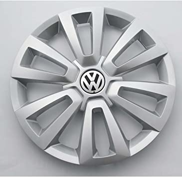 Volkswagen 5c0601147c8z8 Radkappe 1 Stück Radzierkappe Original 16 Zoll Stahlfelgen Radzierblende Silber Auto