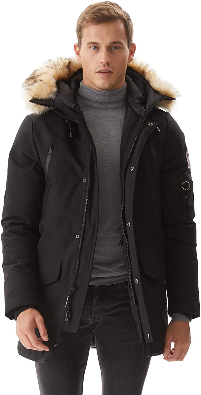 Parka Jacket With Fur Hood