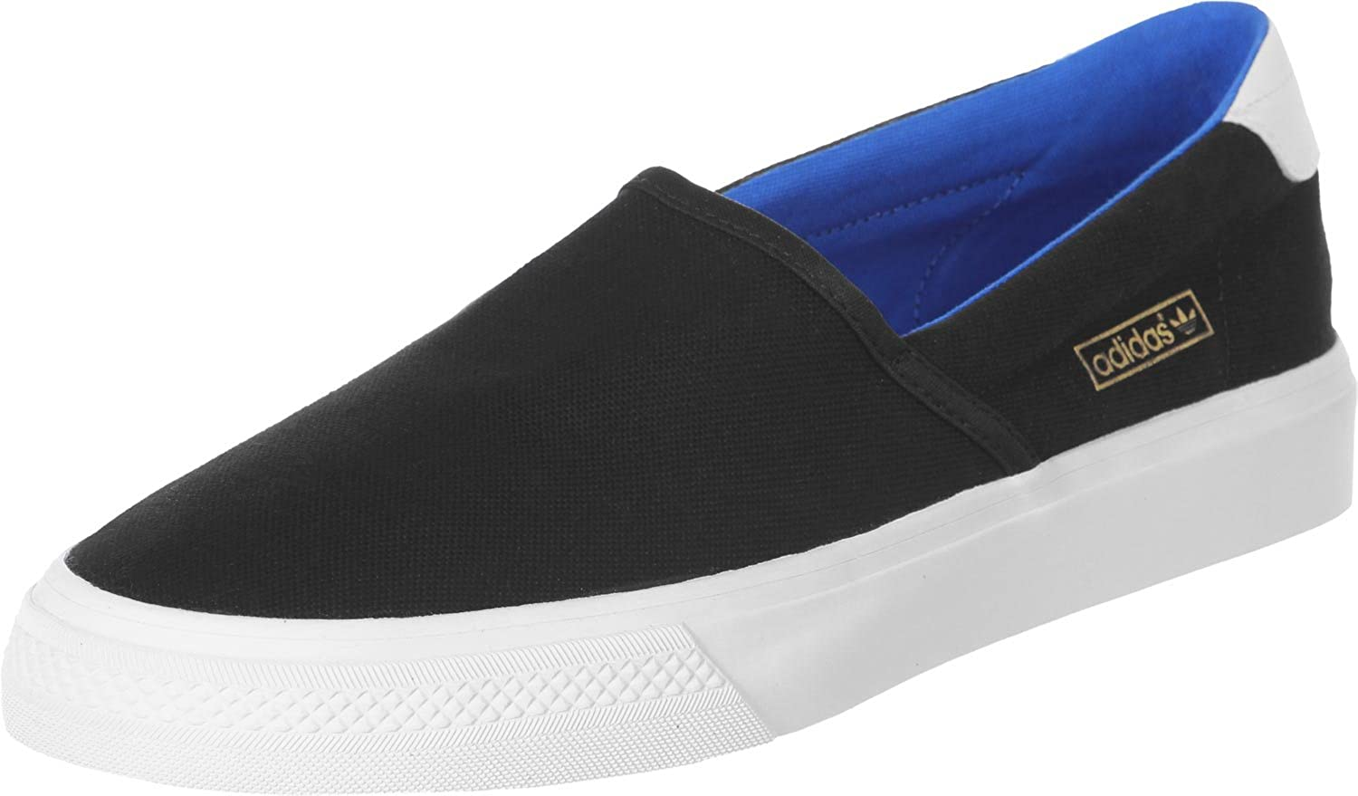 a1062735cd80 adidas Mens Originals Adidrill Vulc Trainers in Black  Amazon.co.uk  Shoes    Bags