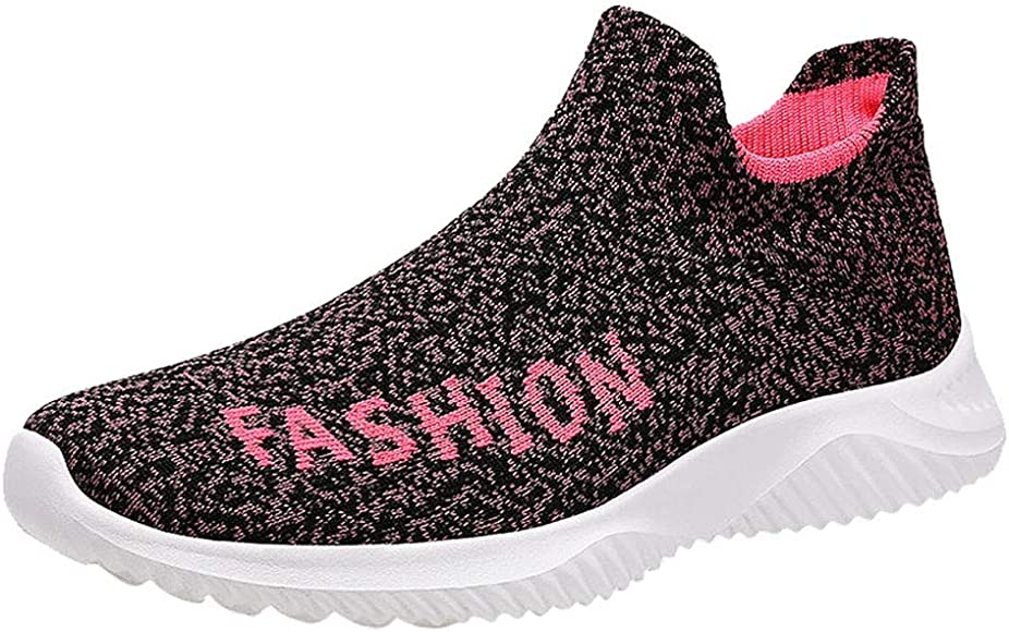 Uomo Scarpa Womesh Slip On Calze Sneakers Casual da Corsa