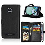 Best Kickstand Cases For Motorola Motos - Moto Z Play Case, Ranyi [9 Card Slots Review