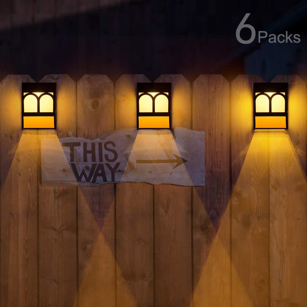 Sunface Solar Deck Lights