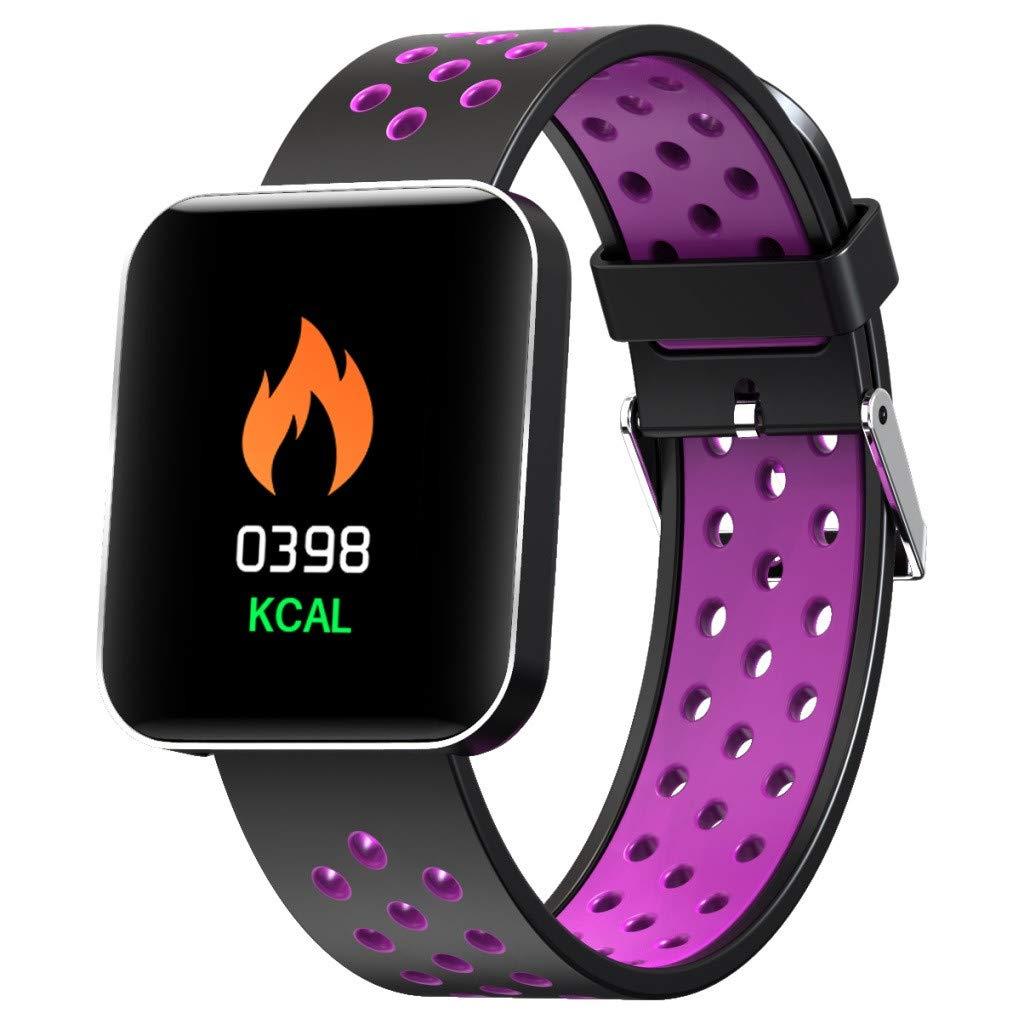 Amazon.com: Bluetooth Smart Watch - Start_wuvi Smart Sports ...