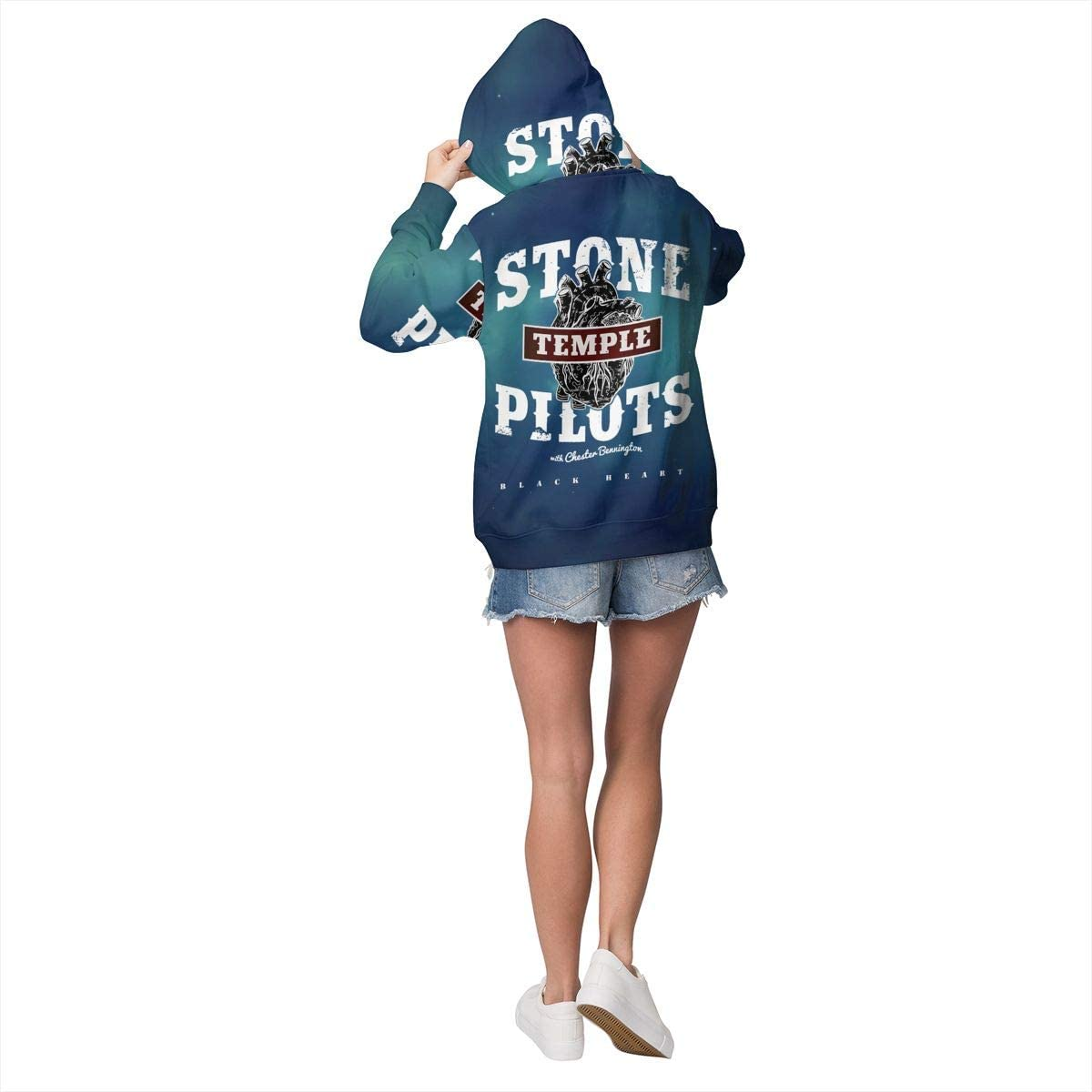 Stone Temple Pilots Womens Medium Thick Hoodies Sweatshirts Pullover