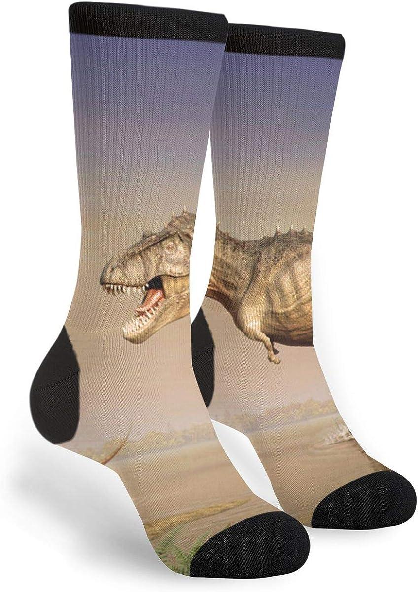 YISHOW Dinosaur Animals Funny Crew Socks