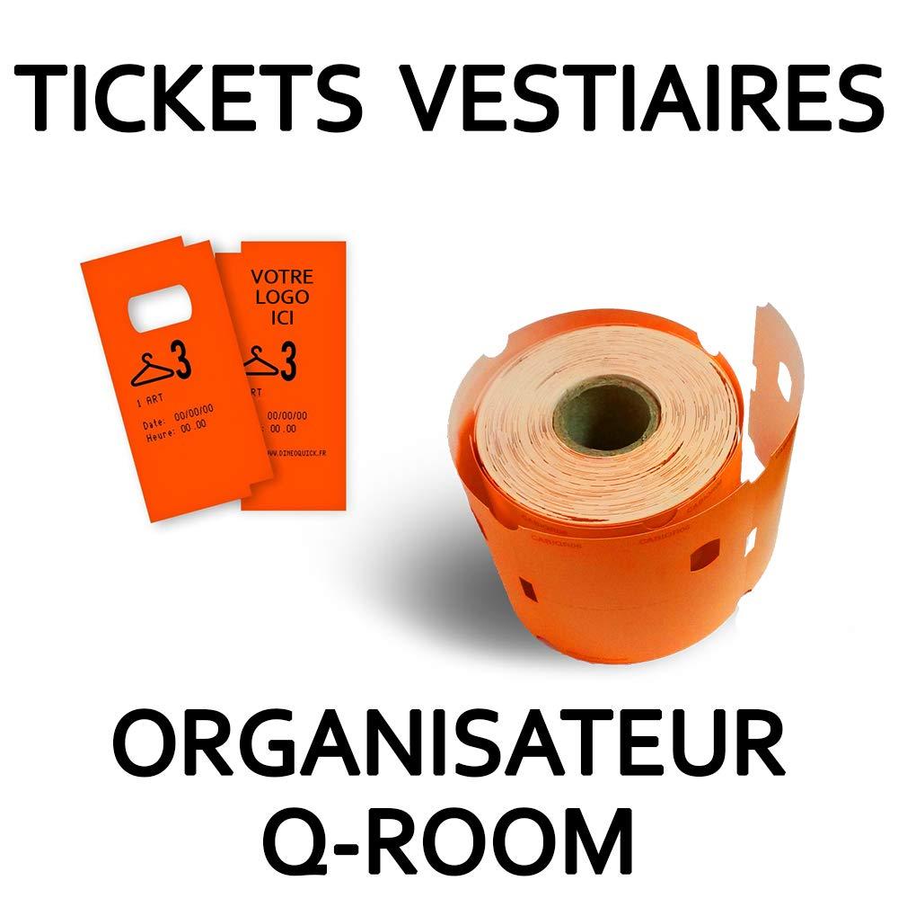Tickets Tickets Tickets Vestiaire – 800 Tickets gelb B07MZ7Y6FL | Lebhaft und liebenswert  300100