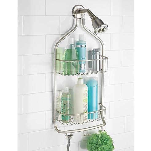 mdesign duschablage zum hngen praktisches duschregal ohne bohren zu montieren duschkrbe zum hngen - Duschzubehor Zum Hangen