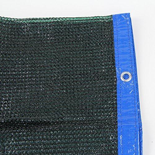 80% Negro Sun Shade Cloth privacidad Panel con ojales – tela UV resistente para el jardín/toldo Pergola/RV: Amazon.es: Jardín