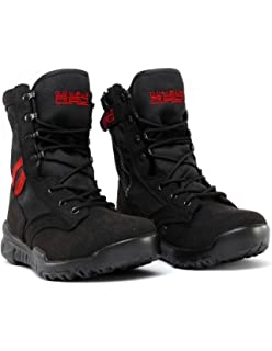 Double Red Boots Jungle Digi Grey Stiefel Crazy Army Color