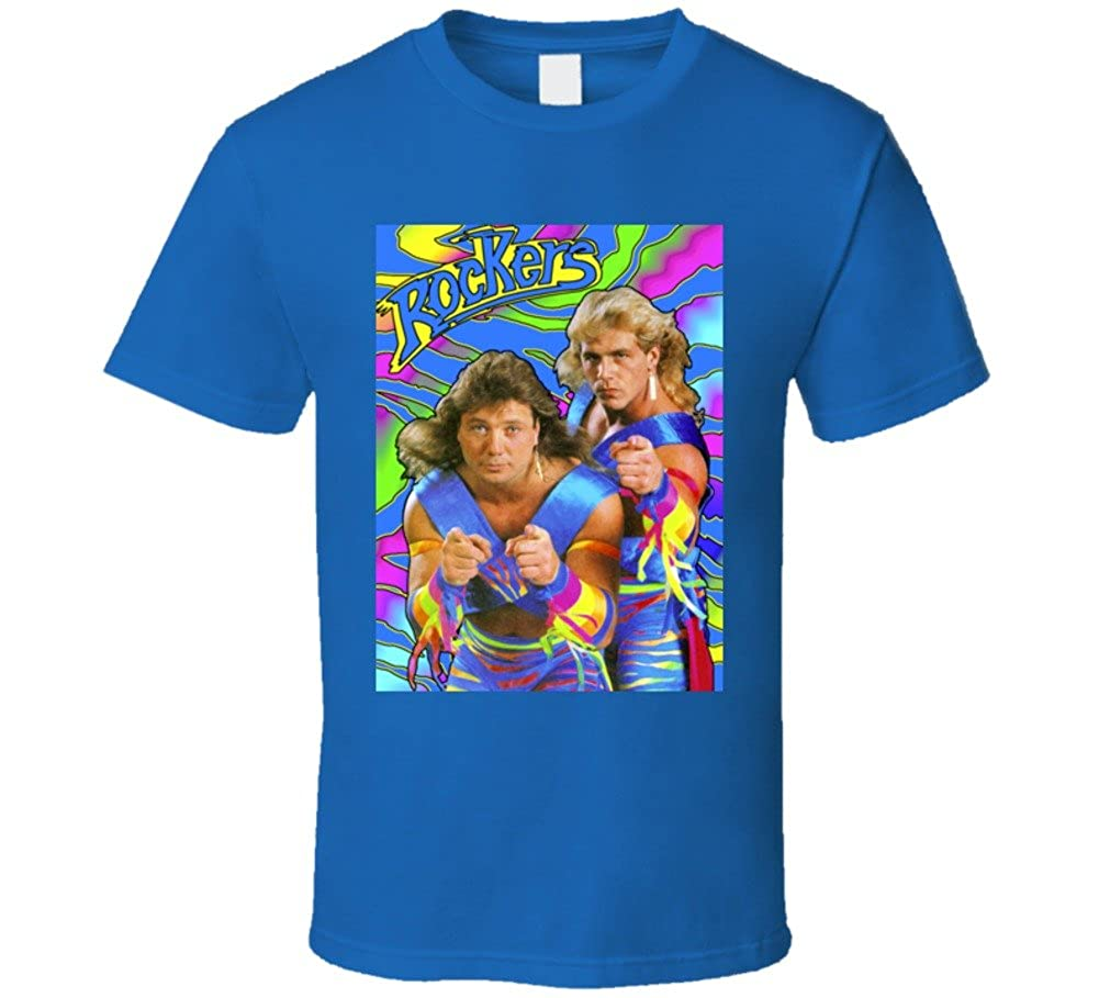Rockers Retro Wrestling T Shirt