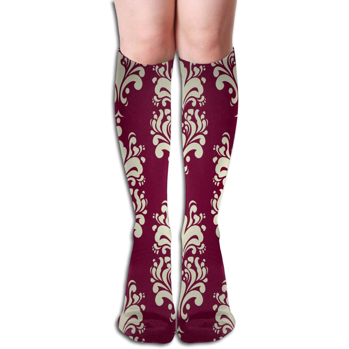 Women Socks Mid-Calf Skulls And Roses Cool Winter Special For Party