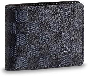 5d0d50fe390 Louis Vuitton Damier Cobalt Canvas Multiple Wallet N63211